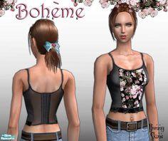 *Bunny*'s Boh�me: Black Floral