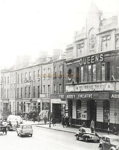 The Queen's Theatre, 209 Great Brunswick Street, Now Pearse Street, Dublin Dublin Street, Dublin Airport, Dublin City, Old Pictures, Old Photos, Queens Theatre, Brunswick Street, Images Of Ireland, Ireland Homes