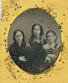 Braided Victorian Women - so lovely