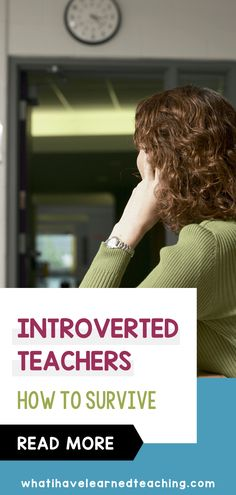 Are you an introverted teacher who NEEDS downtime after a long day in a high-energy classroom? I am. I need to work on strategies to give myself a break from teaching. Here is how I survive as an introverted teacher in an elementary classroom with students to vie for my attention all day long. Teaching Second Grade, First Grade Teachers, Third Grade, Fourth Grade, Classroom Activities, Classroom Organization, 21st Century Learning, Teaching Resources, Teaching Ideas