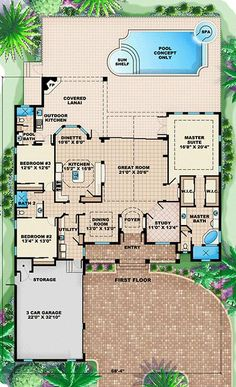I like this layout. Except for the Utility closet right by the bedroom. It should be somewhere near the back of the house. Maybe make that a storage room