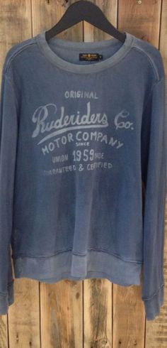 Rude Riders Motorcycle Fashion, Motorcycle Style, Vintage Outfits, Vintage Fashion, The Originals, Sweatshirts, My Style, Sleeves, Sweaters