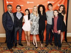 Don't you just love this cast??    The Fosters at TCA.
