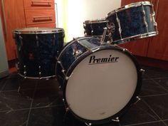 Premier Vintage Drum Kit | eBay