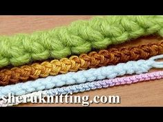 Crochet I Cord - YouTube