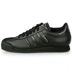 Adidas Samoa Mens G22596 Black Casual Shoes Athletic Sneakers Trainers Size 7.5