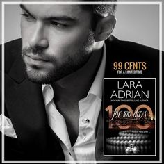 """Did you see this magnificent sale from Lara Adrian?! I just one clicked! Go forth and read....  ★★ 99CENTS FOR A LIMITED TIME! ★★ Looking for a  summer read? Save $5 for a very limited time on FOR 100 DAYS, Book 1 of the sizzling, suspenseful 100 Series! If you haven't met my scarred, alpha billionaire Dominic Baine, there's never been a better time to dive into the series reviewers are calling """"phenomenal"""" and """"the perfect summer read""""! https://www.facebook.com/LaraAdrianBooks/"""