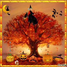 Photo Halloween, Halloween Gif, Halloween Pictures, Happy Halloween, Halloween Pumpkins, Great Pumpkin Charlie Brown, Gif Photo, Gothic Art, Holidays And Events