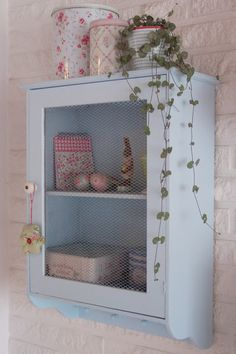 Love this little cabinet