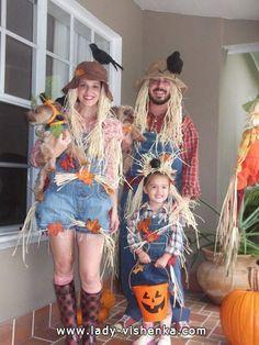 Épouvantail — costume d'Halloween
