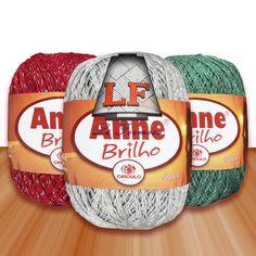 Linha Círculo Anne c/ Brilho (Prata) - 500 m (Lã Formosa)