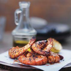 King prawns with garlic & smoked paprika