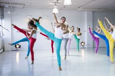 Backstage at Yoga Jeans™ Spring/Summer 2013 video shoot!  This is what you can do in Yoga jeans! Love the colours.