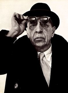 """Igor Stravinsky. """"Is it not by love alone that we succeed in penetrating to the very essence of being?"""""""