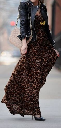 Leopard & Leather ♥