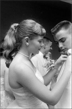 Mariemont High School Prom, 1958 Ohio