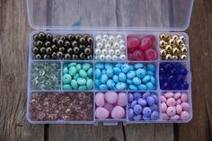 Beads kit, Beads pack, Christmas gift, DIY jewellery #supplies @EtsyMktgTool #braceletbeads #beadsbulk #beadsmix #christmasgiftkids