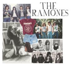 """The RAMONES."" by sunnyohanan ❤ liked on Polyvore featuring H&M and Jeffrey Campbell"
