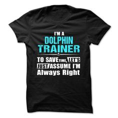 Love being A DOLPHIN TRAINER T Shirts, Hoodies, Sweatshirts. CHECK PRICE ==► https://www.sunfrog.com/Geek-Tech/Love-being--DOLPHIN-TRAINER.html?41382