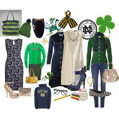 Go IRISH!  dressing like this would be better than lingerie as far as my hubby is concerned!