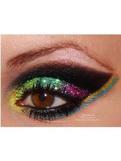 #maquillaje #ojos # carnaval