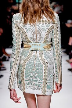 Balmain Fall RTW 2012: too exquisite for words