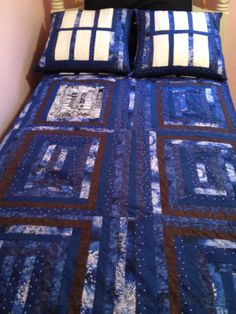 TARDIS Bed (Part 2 - The Pillows and the Quilt) | Once Won't Hurt