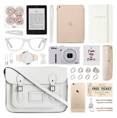 """""""Pink pure dreams"""" by alexandra-provenzano ❤ liked on Polyvore featuring The Cambridge Satchel Company, Kate Spade, Black Apple, Madewell, HAY, ASOS, Cartier, Nikon, Paul Smith and Muse"""