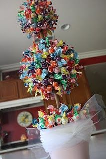 party love ♥: lollipop topiary