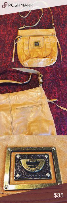 The Sak Kendra Crossbody Ochre   Leather The Sak Bags Crossbody Bags