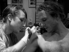 Heath getting a tattoo <3 - Heath Ledger Photo (22640544) - Fanpop