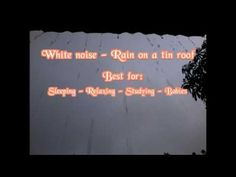 White noise rain on a tin roof sounds for sleeping - Soothing baby - YouTube