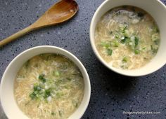 Egg Drop Soup! would you believe this takes 5 minutes to make?!