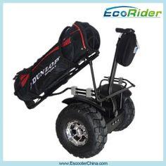 速い電気ゴルフカート、電気一人乗り二輪馬車のバランスをとるゴルフカートの屋外の移動性のスクーター