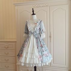 Le Miroir -The Fragrant Flower Wall- Classic Lolita OP Dress