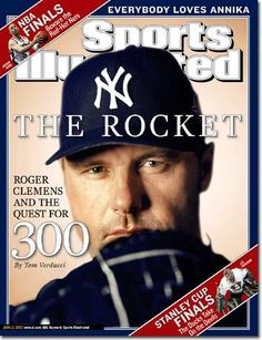 On the Cover: Roger Clemens, Baseball, New York Yankees  Photographed by: Walter Iooss Jr. #nyy #bosox #bluejays