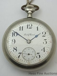 Antique South Bend Open Face Lever Set Mens Pocket Watch to Fix #SouthBend