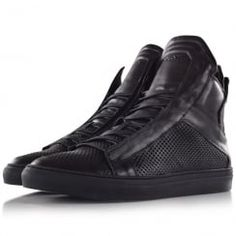 Ylati footwear Zeus Black Oversized High Top. Available now at www.brother2brother.co.uk