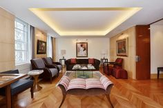 An incredible lateral apartment in Knightsbridge overlooking Lowndes Square available for both Long and Short Term rental.