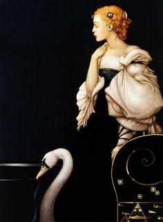 Michael Parkes - Beatrice Alone