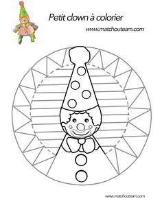 Ma Tchou team: Clown en papier : le coloriage pas comme les autres