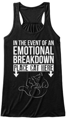 Cat Emergency - in the event of an emotional breakdown place cat here Products I Love Cats, Cute Cats, Funny Cats, Funny Cat Shirts, Sweatshirt Outfit, Crazy Cat Lady, Crazy Cats, Look Street Style, All About Cats
