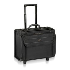 SOLO Classic Collection Rolling Catalog Case with Check-Fast Airport Security-Friendly Sleeve, Holds up to 17 Inch Laptop, Black (B151-4) U.S. Luggage,http://www.amazon.com/dp/B000IJ9O8W/ref=cm_sw_r_pi_dp_shdesb16VZHX2B44