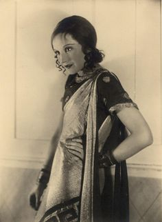 Elizabeth Bergner (c. 1930)  Born in Galicia, actress Elisabeth Bergner (1897-1986) became one of the biggest starts of stage and screen in the Weimar Republic. She and her husband, director Paul Czinner, fled Germany after the Nazis came to power. They emigrated first to London and eventually to Hollywood. This photo was taken by Berlin portrait photographer Hans Robertson (1883-1950), one of the first professional dance photographers.