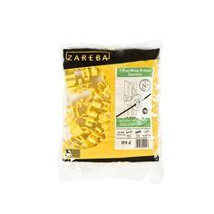 $3.49 Zareba Yellow Standard Snug-Fitting T-Post Insulator (25-Per Bag)