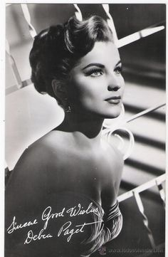 debra paget a stunning beauty in her day
