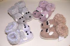Вязаные пинетки ( детские носочки) для малышей,рождённых в год Овечки - Ярмарка Мастеров - ручная работа, handmade