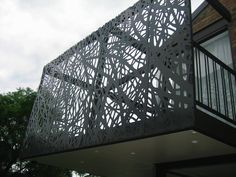 Steel laser cut balustrade  Loading Image