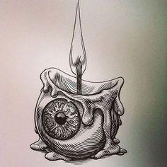 Abstracto self art, tattoo drawings, tattoos Art Drawings Sketches, Tattoo Drawings, Easy Drawings, Disney Drawings, Tattoo Sketches, Trippy Drawings, Sketch Art, Dark Art Drawings, Sketch Ideas
