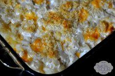Liquid Gold Cheesy Party Potatoes - #VelveetaRecipes - Just Us Four